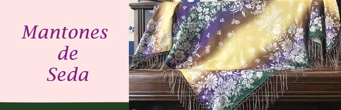 Mantones de seda
